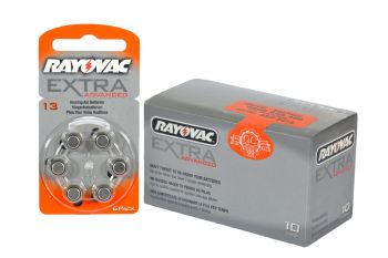 Rayovac Hearing Aid Batteries Size 13